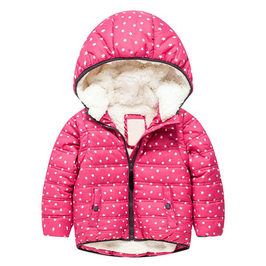 MUQGEW 2017 Hot Sale Baby Girl Boy Clothes Winter Cotton Long Sleeve Hooded Coat Jacket Thick Warm Zipper Outwear Clothes 2017new women winter leisure coat warm fur collar hooded womens parkas female long sleeve zipper good overcoat thick cotton coat