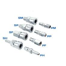 Pneumatische C typ schnell joint SP30/PP30 /SM30/PM40 männlichen und weiblichen kopf luft kompressor schlauch schnell stecker PU rohr pneumatische verbinden