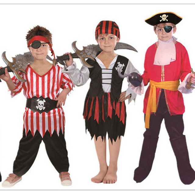 Free Shipping halloween COSPLAY Children kid boy Pirate costume clothing Set garment boot with jeans vest  sc 1 st  AliExpress.com & Free Shipping halloween COSPLAY Children kid boy Pirate costume ...