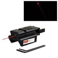 Ücretsiz Kargo Red Dot Lazer Sight Weaver Rail Dağı 20mm Picatinny Için Gun Kompakt Avı GBNG