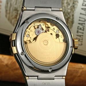 Image 5 - 2018 Men watch top brand luxury watch men Automatic brand Sapphire Stainless gold Mechanical watch waterproof Relogio Masculino