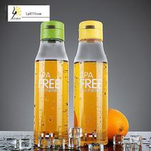Kreative Flasche Tragbare Student Wasser Plastikwasserflasche Raum Leicht 700 ml