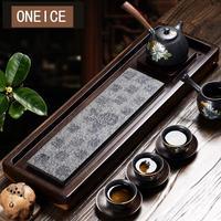 Маленький чайный поднос простой Твердый Деревянный Эбеновое дерево море куриное крыло деревянный стол слив Китайский кунг фу бамбуковые ч