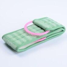 Модное суповое банное полотенце с длинной спинкой, крепкое полотенце для душа, аксессуары для ванной комнаты, мягкая губка для тела, скраб
