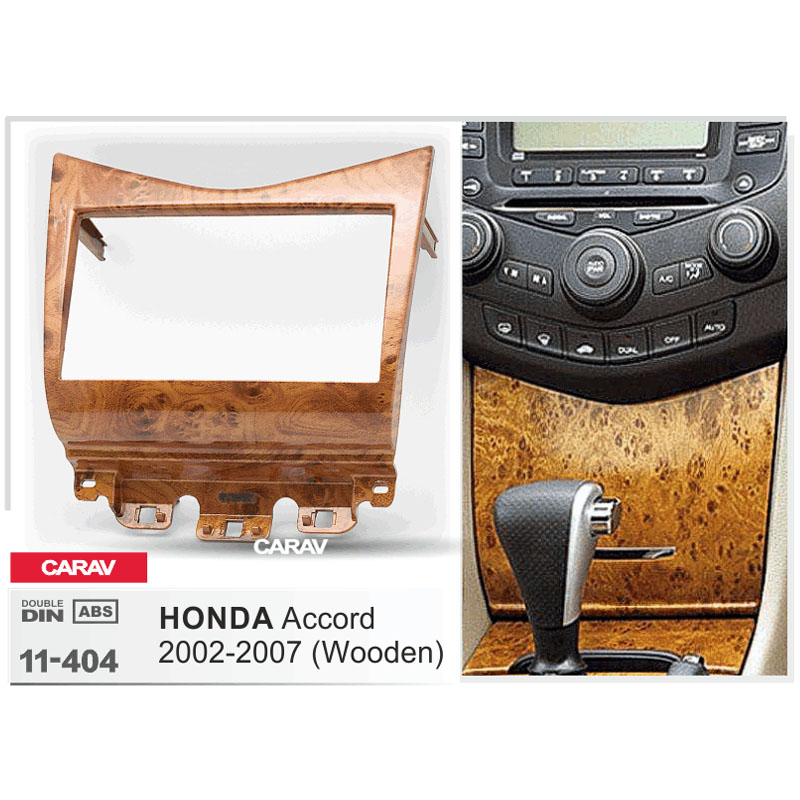 Carav 11 404 Car 2din Fascia Facia Panel Plate Frame For