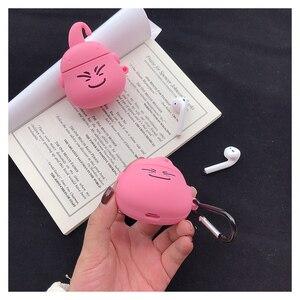 Image 5 - Airpods 1 2 Schattige Japanse Cartoon Dragon Ball Majin Buu Oortelefoon Siliconen Cover Voor Apple Draadloze Bluetooth Headset Gevallen Funda