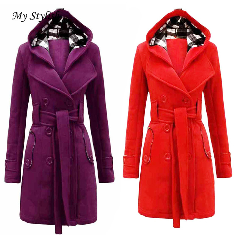 Popular Hooded Red Coat-Buy Cheap Hooded Red Coat lots from China ...