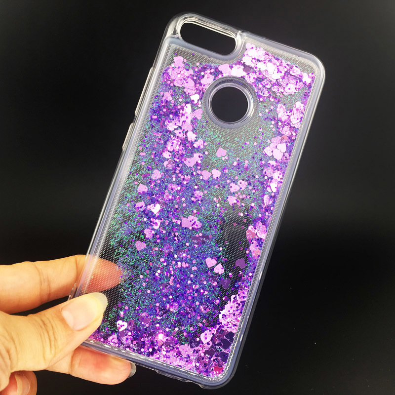 Original For Xiaomi Mi A1 Glitter Dynamic Liquid Quicksand Cute Case Xaomi Xiomi Mi A1 5x Soft Silicone Bumper Cover Mia1 Xiaomia1 Funda Special Summer Sale Fitted Cases