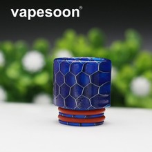 vapesoon Resin Vape Mouthpiece Wild Cobra Drip Tip for e-cigarette 810 Thread RTA Atomizer for SMOK TFV12 Prince