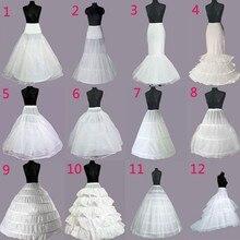 Wedding Petticoat Crinoline Slip Underskirt Bridal Dress Hoop Vintage Slips Jupon Mariage Accessories