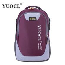 Yuocl новый женский рюкзак женский bolsa mochila feminina холст печати рюкзак женщины школьные сумки для подростков рюкзак bagpack