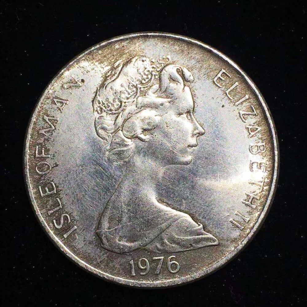 1976 Elizabeth Centenário Do Bonde Cavalo Challenge Coin Titular Coletar Ucrânia Réplica de Prata Cópia Moedas Colecionáveis Monedas