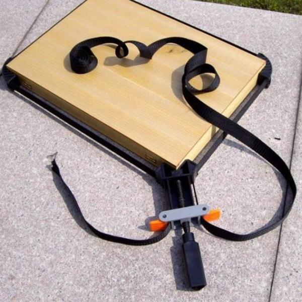 Adjustable Clip Strap Frame Corner Clamp for Woodworking Picture ...