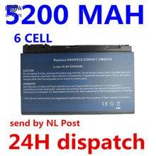 Conis71 para Acer 5200 MAH Bateria Extensa 5210 5220 5230 5420 5610 5620 5630 7220 7620 Travelmate 5320 5520 5530 5710 5720