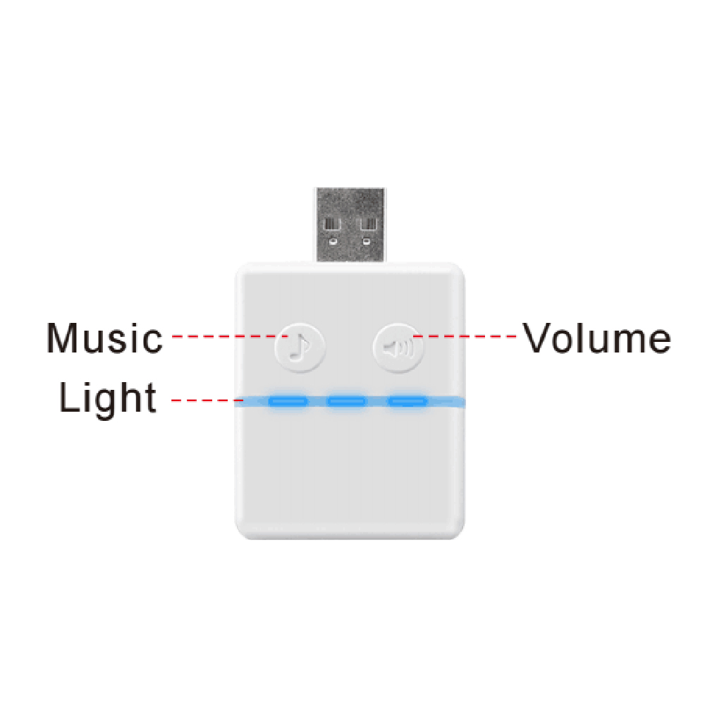 High Quality USB Music Chime Doorbell Indoor Use For KONX Smart WiFi 2way Audio Doorbell Smart Home