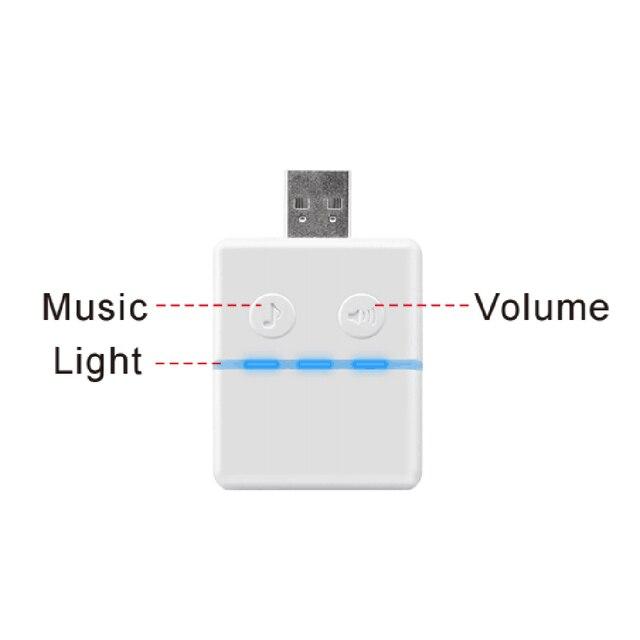 USB באיכות גבוהה מוסיקה פעמון פעמון מקורה שימוש עבור KONX חכם WiFi 2way אודיו פעמון חכם בית