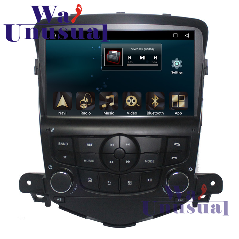 WANUSUAL 9 Quad Core 32G 2G RAM Android 6.0 Car Radio Player For Chevrolet CRUZE 2009 2010 2011 2012 2013 2014 With GPS BT WIFI