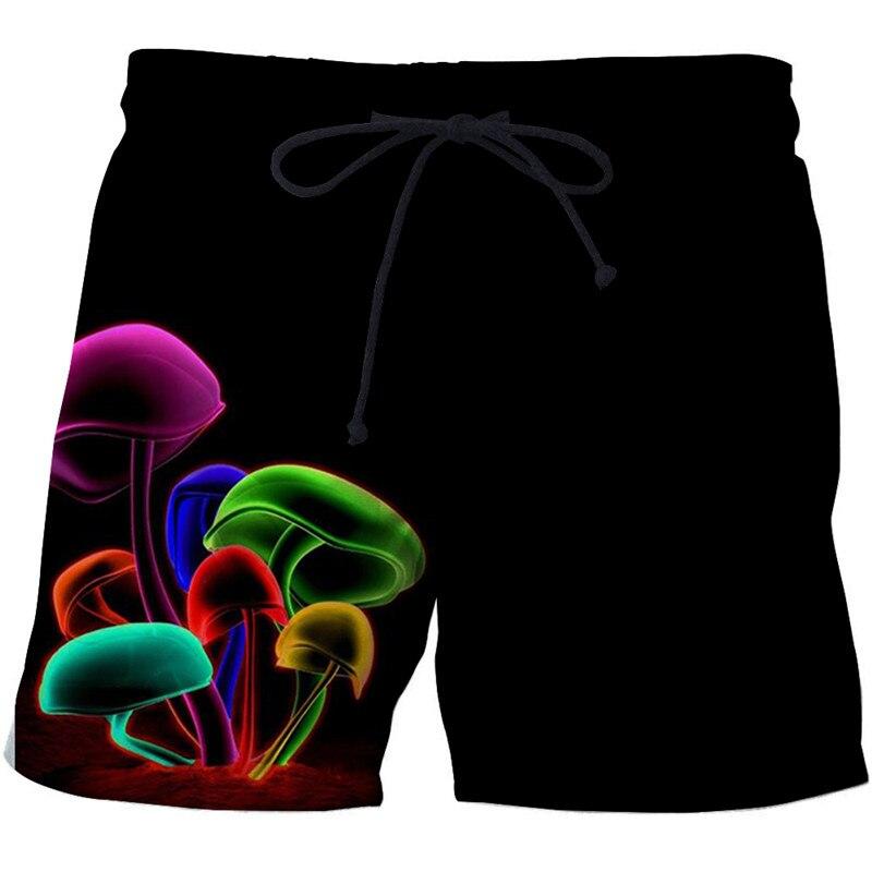 Mashroom Printed Beach   Shorts   Men   Shorts   Plage 3d Unisex   Board     Shorts   Quick Dry Pant Summer Swimwear Cool DropShip ZOOTOPBEAR