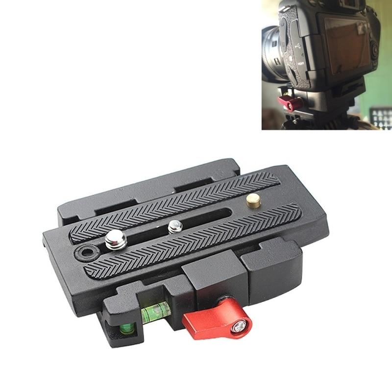 DLSR Camera Tripod Monopod P200 QR Aluminium Alloy Clamp Adapter+ Quick Release Plate for Manfrotto 501 500AH 701HDV 503HDV Q5