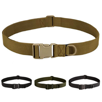 Fashion men's Military Equipment Knock Off Army Belt Heavy Duty US Soldier Combat Simple Tactical Belts Sturdy Nylon Waistband