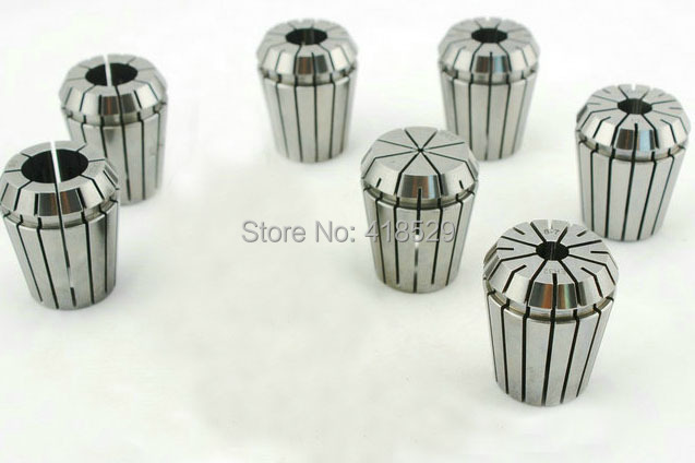 7 PCS ER11 Pro-Quality Spring Collet Set Flexible collet CNC Milling Lathe Tool
