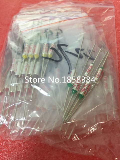 16 Values=80pcs assortment kit Thermal Fuse 10A 250V Thermal Cutoffs 73C degree – 240C degree Temperature fuse