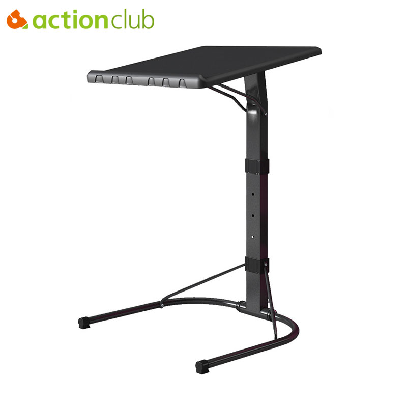 Actionclub Fashion Notebook Computer Desk Bed Learning With Household Lifting Folding Mobile Bedside Sofa Laptop Table Bed Table actionclub simple fashion laptop table creative foldable computer desk portable bed studying table notebook desk for sofa bed