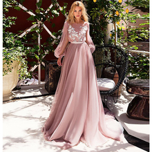 Verngo robe de mariée ligne A à fleurs, robe de mariée élégante, manches à volants, en Tulle, modèle 2019