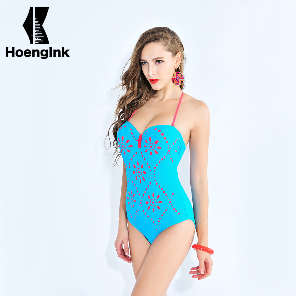 BRANDMAN blue pink tattoo sexy swimsuit noble and conservative pink printing large no back beach swimwear size L to 4XL 66051 noble people куртка на пуху без меха для мальчика 18607 284down no fur зелёный noble people