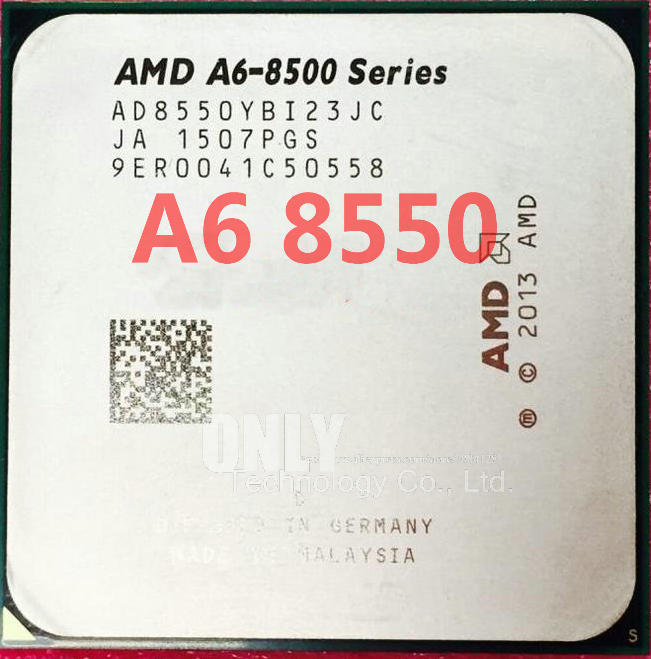 Cpu Processor FM2 Ad855bybi23jc-Socket 8500 Quad-Core For A6 8500/A6/8550/..