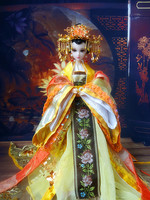 32CM Traditional Chinese Queen Dolls Pretty Girl BJD Dolls Movies & TV Girls Toys Christmas Birthday Gifts For Collection