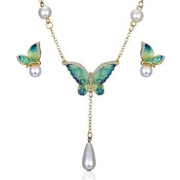 Women's Butterfly Design Jewelry Set Hot Promotions Jewelry Jewelry Sets Women Jewelry Metal Color: 8