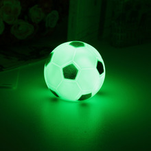 Cute Ball Shaped Battery-Operated Plastic LED Nightlight