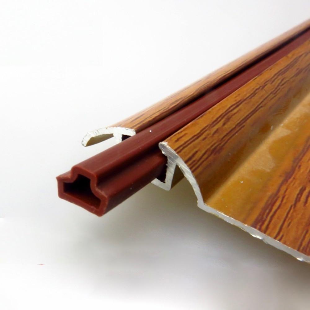 Door Window Track Runway Seals Rubber Gasket Sliding Screen Sash Sealing Anti Dust Reduce Noise Brown Gray