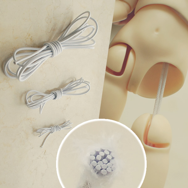 1/3 1/4 1/6 1/8 scale BJD assembly Rubber band for BJD/SD body Assembly tools doll accessories 16C0990