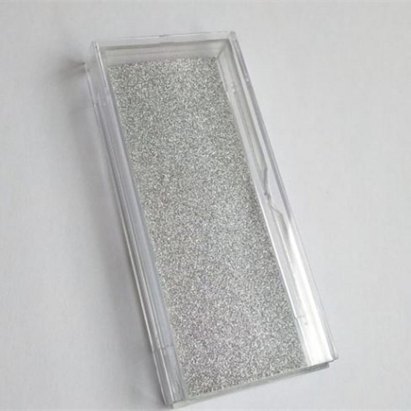 เครื่องแต่งกายบรรจุภัณฑ์กล่อง UPS จัดส่งฟรี 200pcs Eyelash คอนเทนเนอร์ Glitter ขนตาสแควร์กล่อง 3D Mink Lashes โรงงานราคา-ใน ขนตาปลอม จาก ความงามและสุขภาพ บน   1
