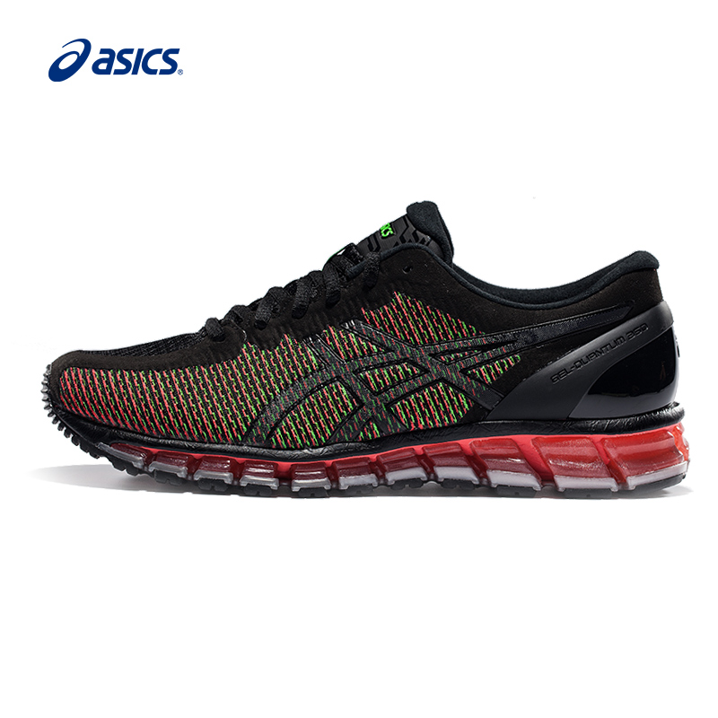 Original ASICS Men Colour-changing Breathable Cushion Running Shoes Light Weight Sports Shoes Sneakers outdoor athletic shoes peak sport men outdoor bas basketball shoes medium cut breathable comfortable revolve tech sneakers athletic training boots