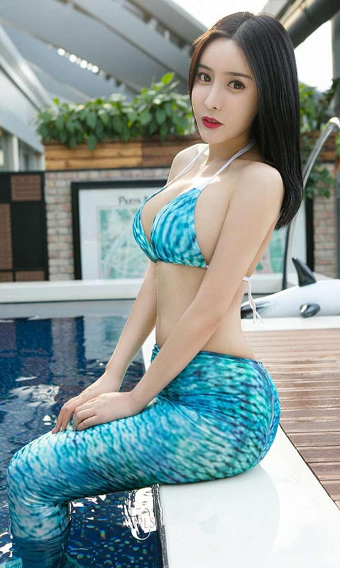 New Mermaid Tail for Swimming Fancy Mermaid Taill for Adult Tail with Monofin