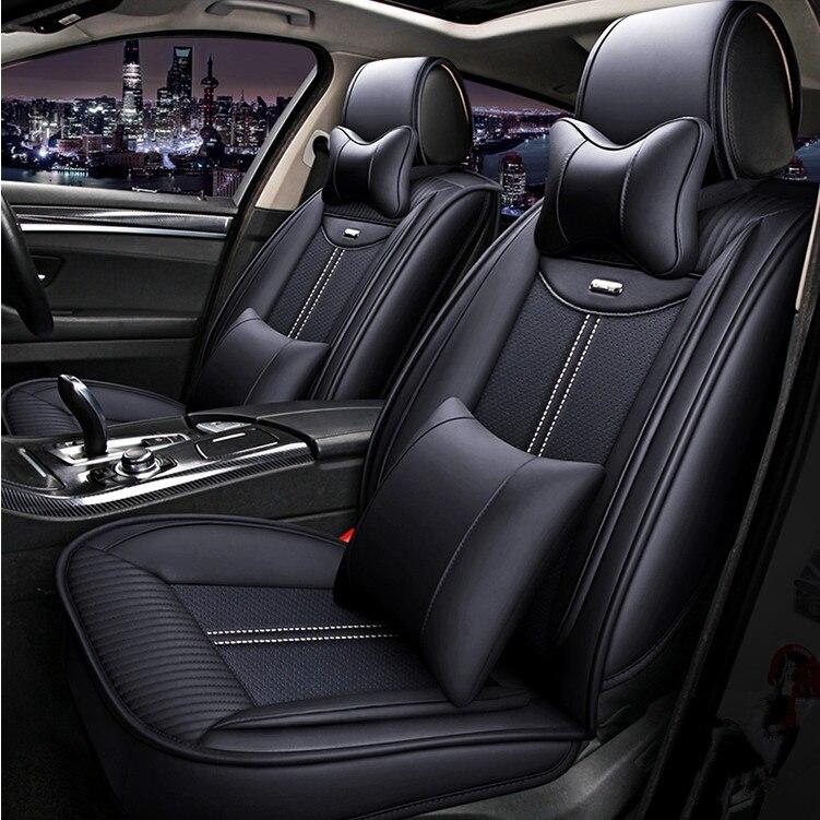 Di alta qualità! Pieno seggiolino auto copre set per Honda Civic 2018-2016 comodo sedile traspirante copre per Civic 2017, trasporto libero