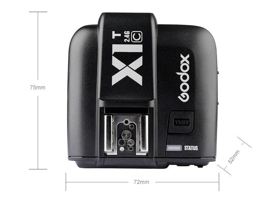 Godox tt685 ttl flash speedlite com x1t