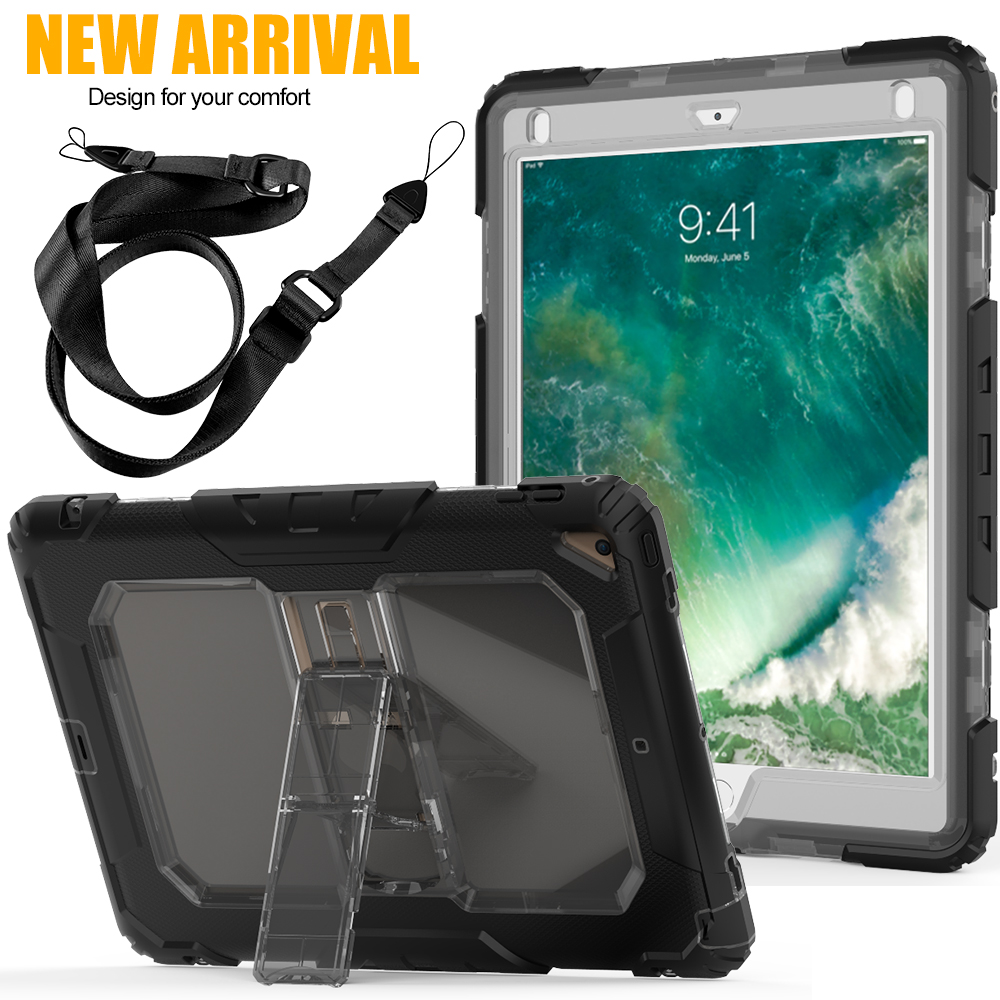 For Apple ipad pro 10.5 protective Case Heavy Duty Shockproof Stand Cover 5 Colors дырокол deli heavy duty e0130