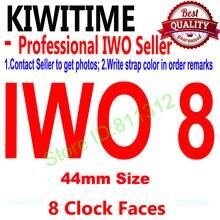 Умные часы IWO 8 44 мм, Bluetooth, серия 4, 1:1, чехол для iOS, Android, ЭКГ шагомер, обновление IWO 5 6
