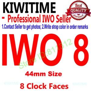 "Image 1 - IWO 8 44mm Bluetooth חכם שעון סדרת 4 1:1 SmartWatch מקרה עבור iOS אנדרואיד קצב לב אק""ג פדומטר שדרוג של IWO 5 6"