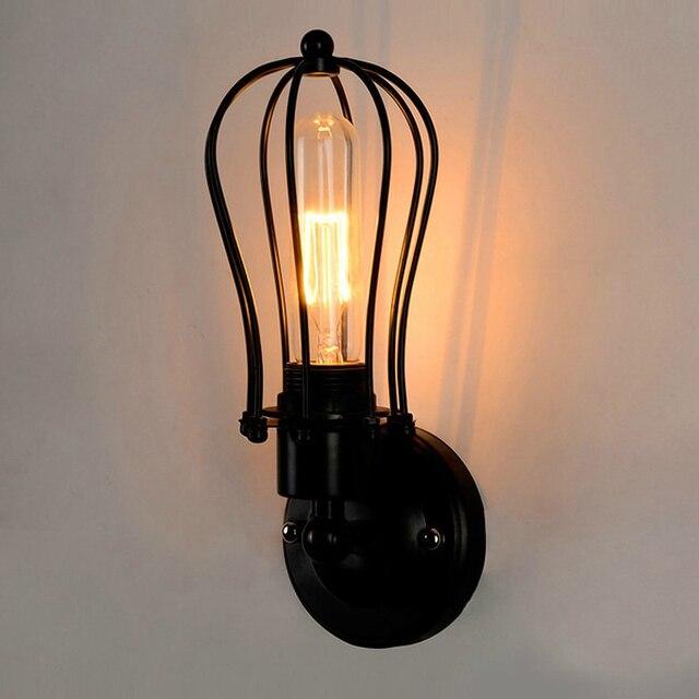 Loft Vintage Nostalgische Industrie Amerikanische Grapefruit Edison  Wandleuchte Lampe Badezimmer Schlafzimmer Spiegel Wohnkultur Moderne  Beleuchtung