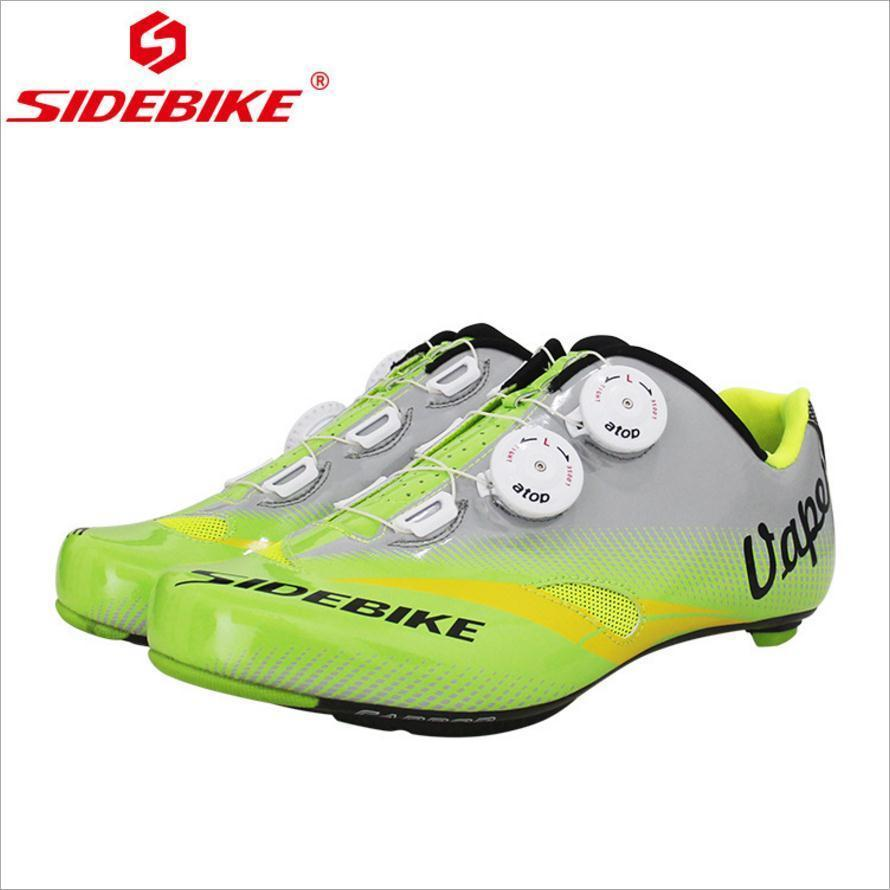 SIDEBIKE Carbon Fiber Type MTB Men Moutain Cycling Shoes Breathable Non-slip Shoes Self-Locking Lightweight Racing Bicycle Shoes sidebike mtb bike shoes carbon fiber cycling shoes men breathable non slip self locking road bike shoes bicycle sneaker shoes