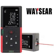 Medidor de distancia láser, 40M, 60M, 80M, 100M, Telémetro Láser, cinta métrica telémetro láser, regla, ruleta, cinta electrónica