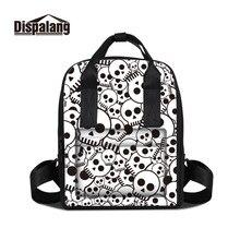 Dispalang slull принт женские рюкзаки Новый модный стиль для девочек школьная сумка для подростков женский рюкзак школы Повседневная дорожная сумка