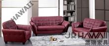 Sofá seccional moderno del estilo superior genuino sofá de la sala de estar muebles 8282 1 + 2 + 3 plazas