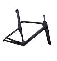 Dengfu 700c 에어로로드 레이싱 자전거 bb86 ud 매트 탄소 섬유 도로 자전거 프레임