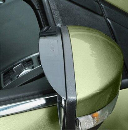 1 Pair Rearview Mirror Rain Snow Shield Guard Board Sun Visor Shade For Ford Kuga Escape 2014 2015 Styling